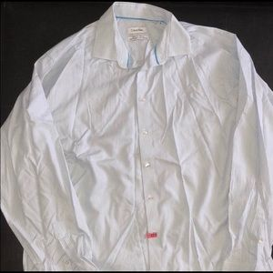 Calvin Klein Striped Button Down Shirt 👔